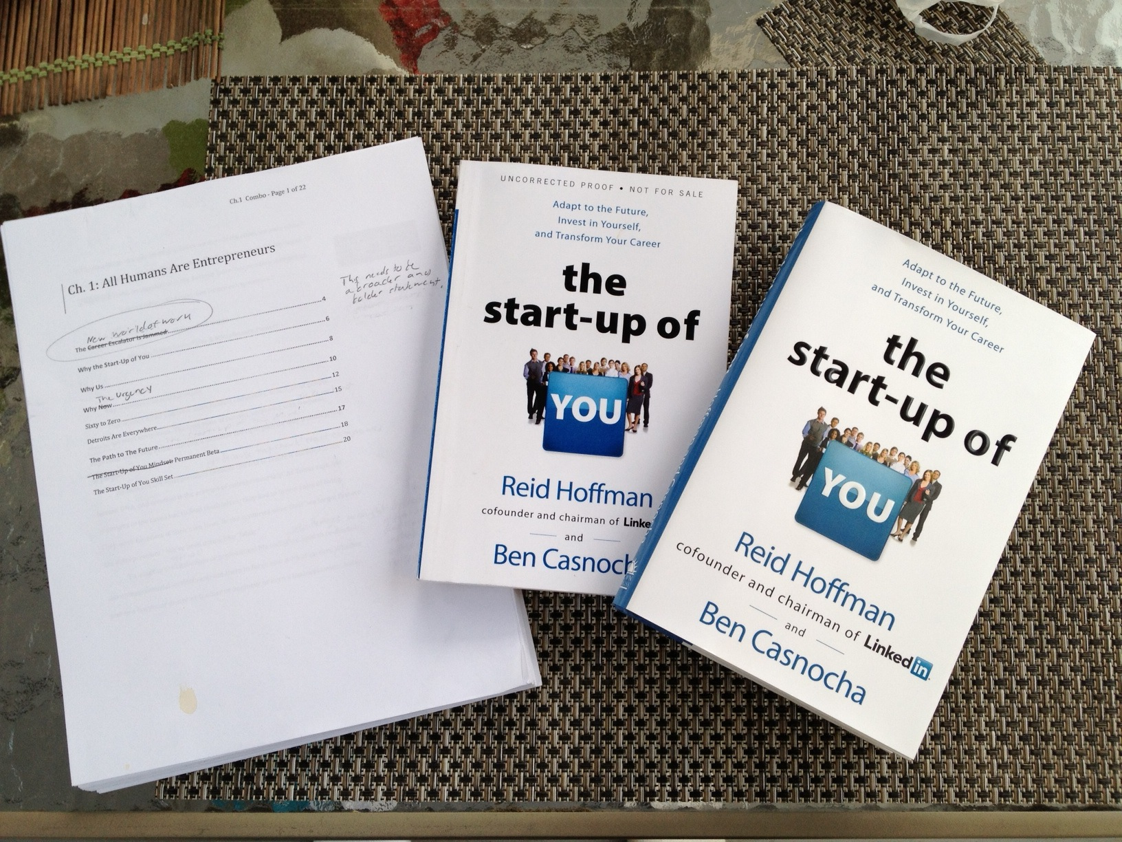 How do I publish a prototype copy of a self-written book?
