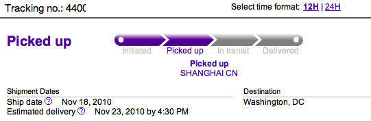fedex truth in tracking china edition ben casnocha. Black Bedroom Furniture Sets. Home Design Ideas